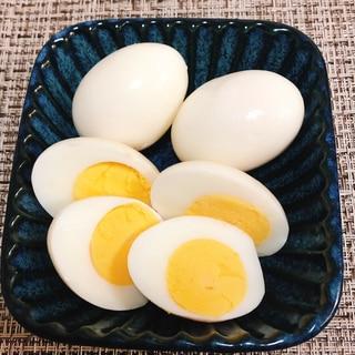 ゆで卵のぬか漬け