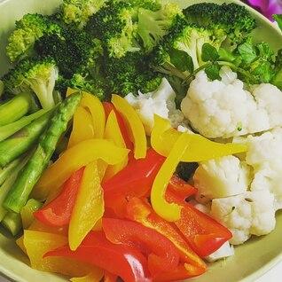 たっぷり採れる温野菜