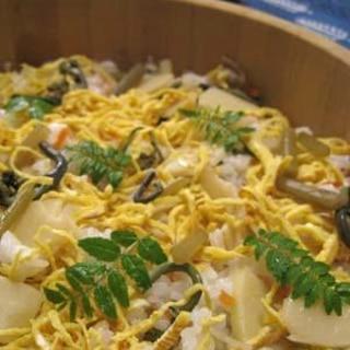 山笑う★山菜ちらし寿司