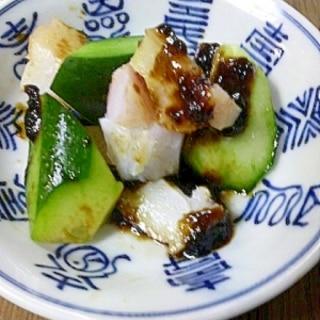 たこときゅうりの海苔酢和え