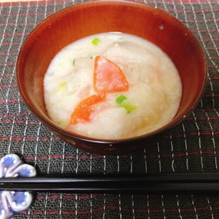 お腹に優しい根菜粕汁(潰瘍性大腸炎◎)