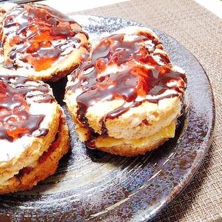 トースターで簡単に出来るお菓子!スフレパンケーキ♪