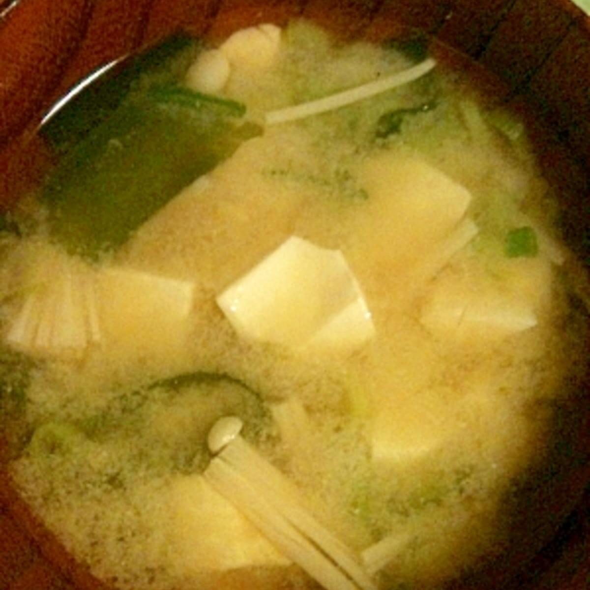 豆腐 味噌汁 レシピ