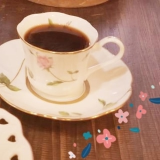 4分完成最強コラボの登場♡バニラ香るハイカカオ珈琲