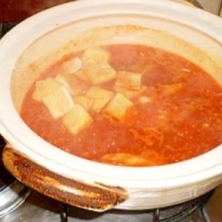 我が家のキムチ豚しゃぶ鍋