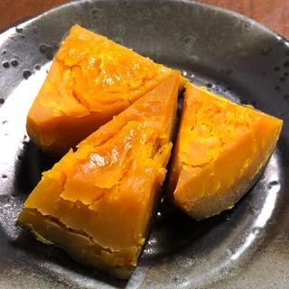 電気圧力鍋でかぼちゃの煮物