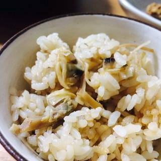 アサリと生姜の炊き込みご飯