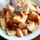 ★タケノコとシイタケと高野豆腐で簡単煮物★