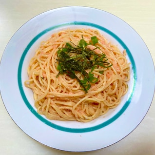 簡単たらこスパゲッティ