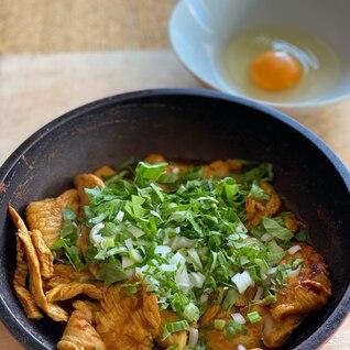 【ダイエットレシピ】鶏胸肉のカレーすき焼き風