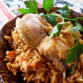 トルコ料理★骨付き鶏肉でアンカラ・タヴァ風