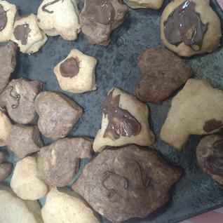 子供と作る、生クリーム型抜きクッキー☆