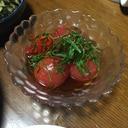 *冷やして美味しい!トマトサラダ*