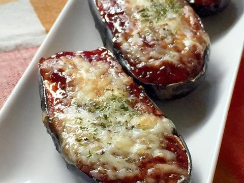 ★茄子のBBQチーズ焼き★