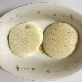 卵と牛乳不使用!無添加パンケーキ 離乳食後期完了期