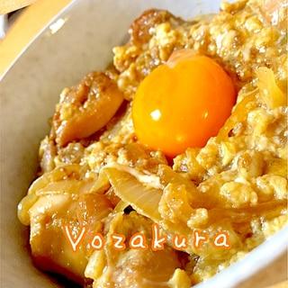 モテ料理!みんな大好き卵on親子丼!