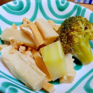 作り置きブイヤベースとあまり野菜で簡単煮物