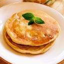 米粉とバナナと卵のパンケーキ