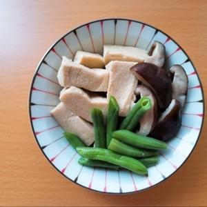 高野豆腐とエリンギ煮