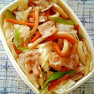 ☆野菜焼きうどん弁当☆