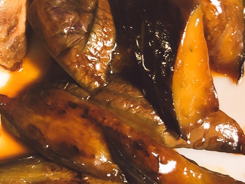 超簡単★なすびの黒酢炒め