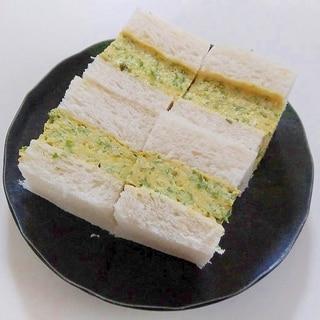 厚焼き青のり卵サンド