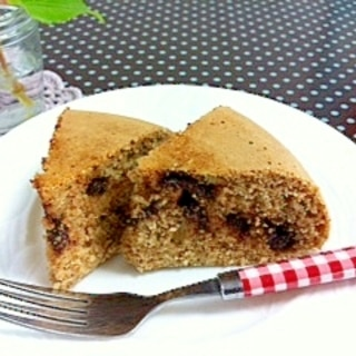 炊飯器で簡単☆全粒粉チョコケーキ