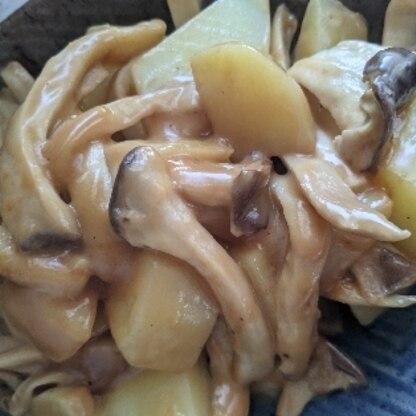 ピーマンがなかったので、じゃがいもとエリンギのみでしたが、美味しく出来ました!レシピありがとうございました!