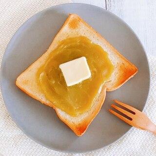 余った栗きんとんで♪栗きんとんバタートースト