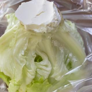 レタスの冷蔵保存