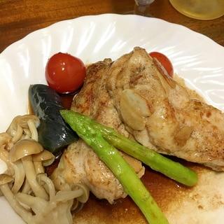 ★★鶏ムネ肉のソテー♩バルサミコソース★★