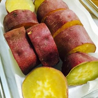 お弁当にあると便利な作り置き!蒸すだけさつま芋