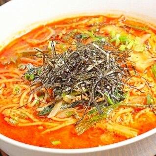 辛ぁ~い!地獄の春雨ラーメン(ユッケジャン麺)