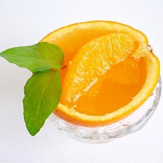 オレンジゼリー