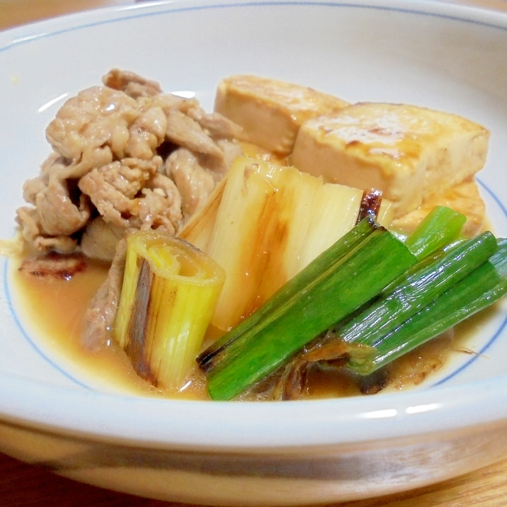 ネギの炒め煮