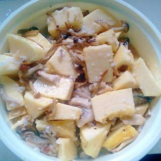 金糸瓜の塩麹きのこ漬け