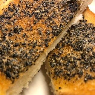 香ばし♡美味し 黒ゴマトースト