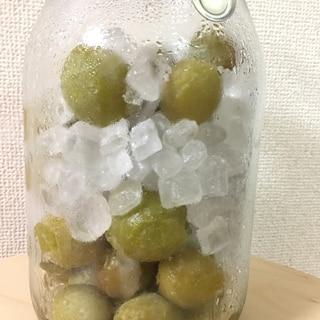 冷凍梅で、梅ジュース✨疲れに効きます!