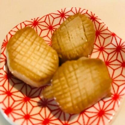 食感も帆立の貝柱がほぐれる様な感じでビックリ! 楽しく美味しいレシピありがとうございました♡