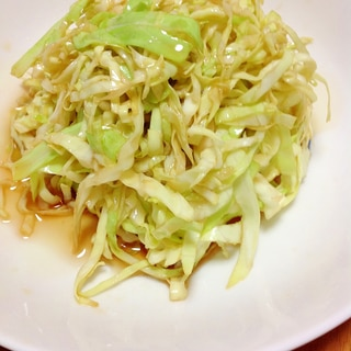 キャベツごま油サラダ