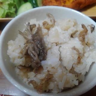 舞茸炊き込みご飯