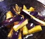 なすの梅肉炒め