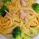 塩麹で!鶏肉のスパゲティ