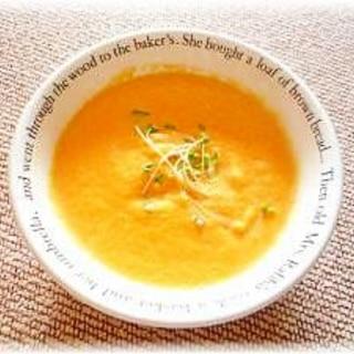 ♪絶対簡単!新にんじんのふわふわおしゃれスープ♪