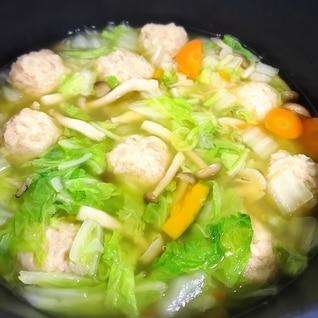 鍋の素がなくても大丈夫☆塩ちゃんこ白菜鍋