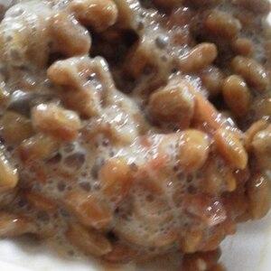 梅干しの酸味が良い・・・・・「梅干し納豆」  ♪♪