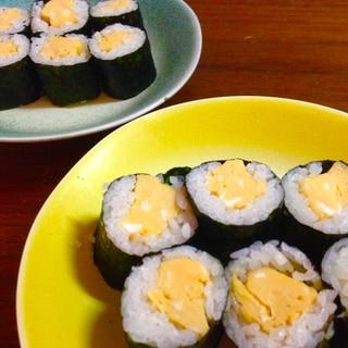 フライパンいらず!レンジで簡単♪たまごの細巻き寿司
