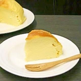 炊飯器で作れる超簡単チーズケーキ