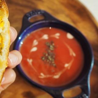 ビーツとジャガイモのスープ