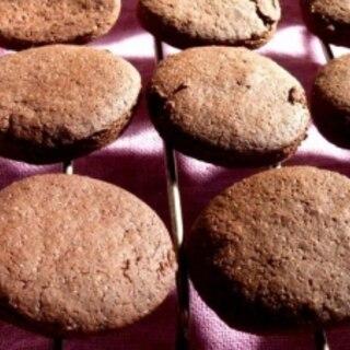 おからパウダーでサクサク♪ミルクココアクッキー